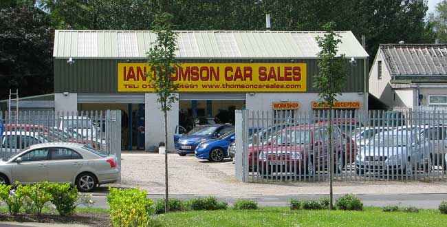 Ian Thomson Used Car Sales Elgin MOray